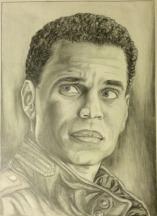 Michael Ealy Portrait Study