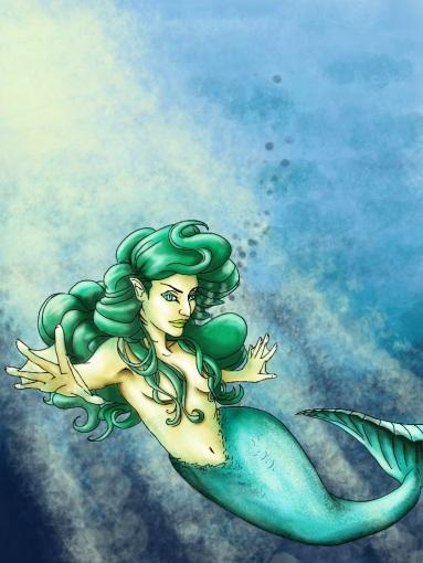 Coral Reef Mermaid